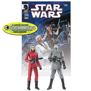 STAR WARS FIGURE LEGACY COMIC PACK NR 29 Baron Fel and Ysanne Isard Limited Edition