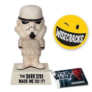 STAR WARS WACKY STROMTROOPER Darkside Made Me Do It Bobble Head