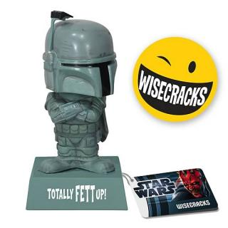 STAR WARS WACKY WISECRACKS BOBA FETT Totally Fett Up! Bobble Head